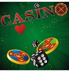 casino card vector image vector image