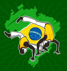 Brazilian Martial Art Capoeira vector image vector image