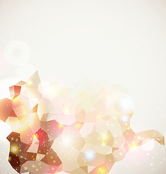 Bright and sparkling page layout for your vector image