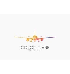 Airplane logo travel logo design Plane logo vector image