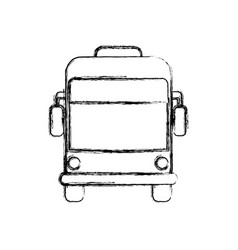 bus public transport vector image