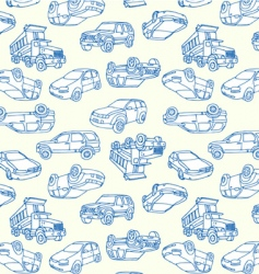 Cars seamless vector