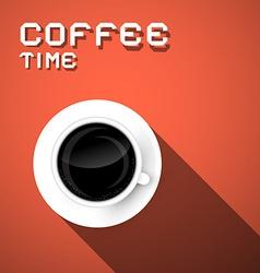 Coffee Time Retro vector image