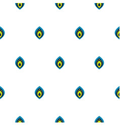 small drops on white seamless pattern vector image