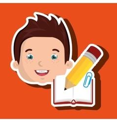 Student school element icon vector