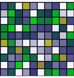 abstract pattern squares with black grille vector image