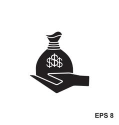 Money simple icon vector image