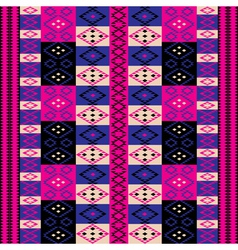 pink ethnic motifs vector image vector image