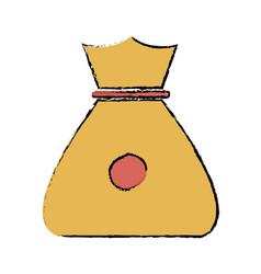 bag money safety money finance symbol vector image