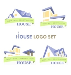 House Set Logo vector image vector image