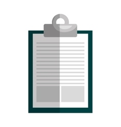 Paper page or note isolated flat icon vector image