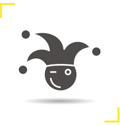 1st april fool icon vector
