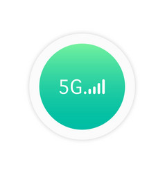 5g icon sign vector