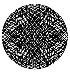 Doodle circle 2 vector