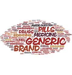 Generic word cloud concept vector