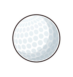 Golf ball sport play equipment image vector