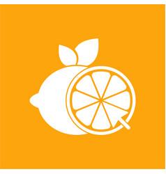 lemonade online logo design template and support vector image