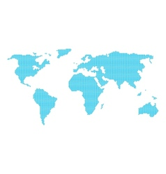 Love the world vector image