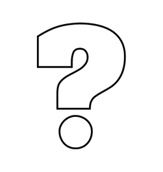 question mark icon doubt design graphic royalty free vector rh vectorstock com question mark graphic image question mark graphic tee