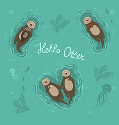 Otter Wallpaper Vector Images 43