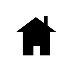 Web home icon vector