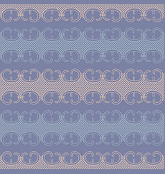 abstract lace decor seamless pattern vector image