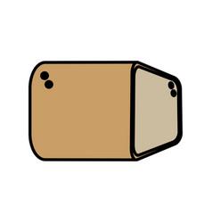 Bread food breakfast image vector