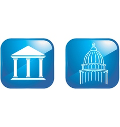 capital designs vector image