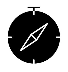 compass icon simple minimal 96x96 pictogram vector image