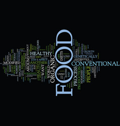food or diet text background word cloud concept vector image vector image