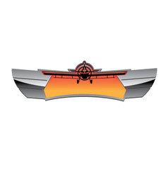 Aviation Badge vector image