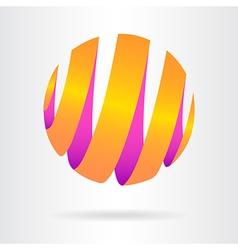 Abstract logo 10 005 vector