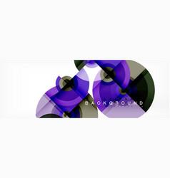 circular abstract background vector image