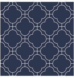decorative seamless ornamental pattern vector image