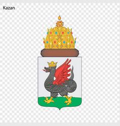 Emblem of kazan vector