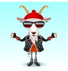Goat rocker character vector