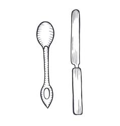 gravure vector image