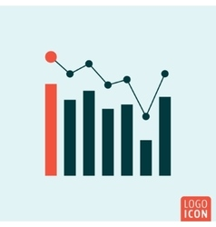 Infographic business icon vector image