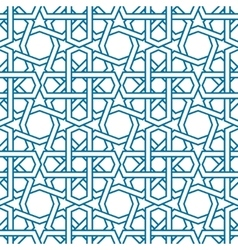 Islamic pattern Seamless traditional vector image