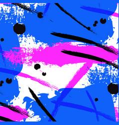 neon splash brush stroke liquid bright vector image