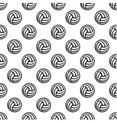 seamless white ball background vector image