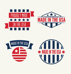 set of labels logo badges and signs made vector image