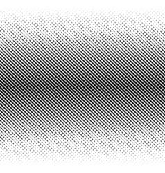 abstract halftone black background Gradient retro vector image