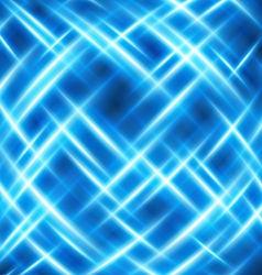 virtual space with light wire lines background vector image vector image
