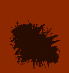 ink brush strokes rough edges dry brush painting vector image vector image