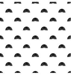 Aboriginal dwelling pattern seamless vector
