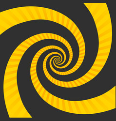 abstract hypnotic spiral vector image
