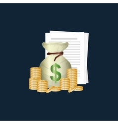 Money business financial vector