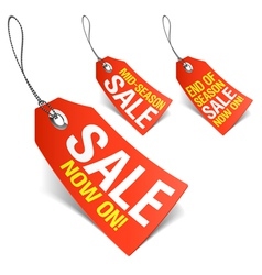 sale now vector image