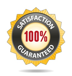 Satisfaction vector image